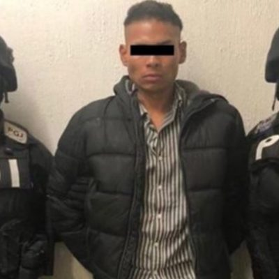 Atrapan a 'El Chupas', sujeto que golpeó a reportero de ADN40 durante marcha feminista en la CDMX