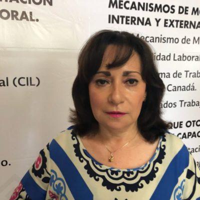Se darán descansos solidarios, pero no habrá despidos y se respetarán salarios, afirma Catalina Portillo