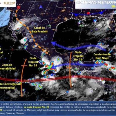 Persistirán altas temperaturas por la mañana y lluvias y chubascos por la tarde en el estado