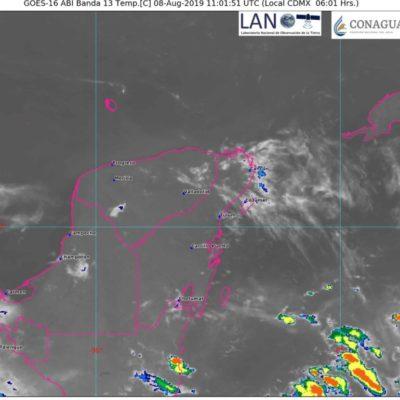 Se mantienen altas temperaturas y lluvias dispersas en Quintana Roo