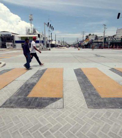 TENDRÁ 'EL CRUCERO' UNA FUENTE EN LUGAR DEL KIOSCO DEMOLIDO: Presentan planes para avanzar en el proyecto de remodelación del emblemático parque de Cancún