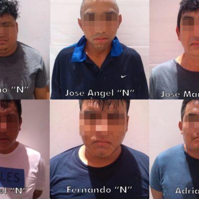 CAEN 'TIRADORES' EN LA QUINTA AVENIDA: Detienen a un grupo de hombres con drogas y un arma en zona turística de Playa