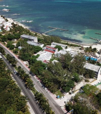 Fonatur reanuda los trabajos de repavimentación del bulevar Kukulcán en la zona hotelera de Cancún