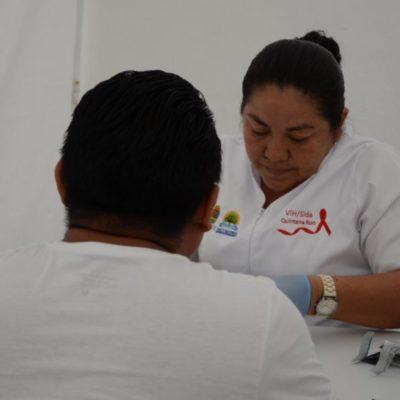 Realizan acciones de detección de VIH y Sida en Tulum