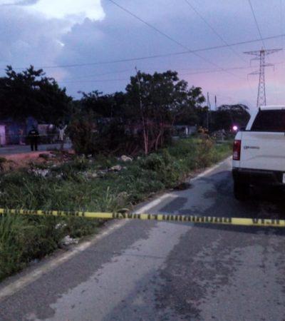 DESCUARTIZADO Y CON NARCOMENSAJE: Hallan cuerpo de ejecutado en la Avenida Las Torres con presuntas amenazas contra comandante policiaco