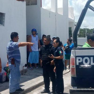 Locatarios de mercado en Chetumal logran detener a presunto ladrón