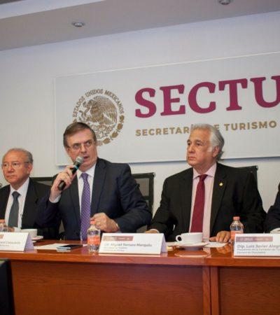 Consejo de Diplomacia Turística discute el Tren Maya en primera sesión