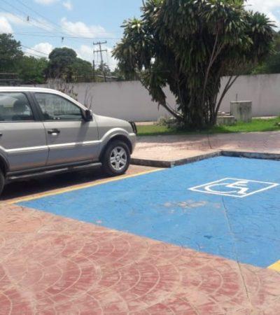 Personas con discapacidad piden a morelenses respetar espacios inclusivos designados