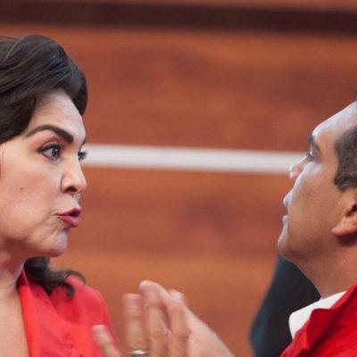 Rechaza Ivonne Ortega validar triunfo de Alejandro Moreno quien ya se ostenta como líder del PRI