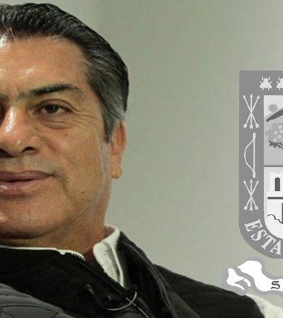 Propone 'El Bronco' incluir un acordeón en el escudo de Nuevo León como homenaje a Celso Piña