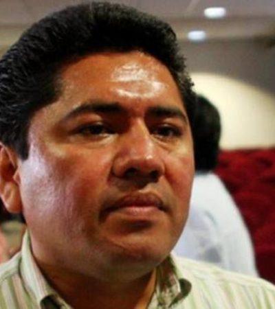 Reaparece Filiberto Martínez en la toma de protesta de la Uqroo y asegura que nuncaha abandonado la política