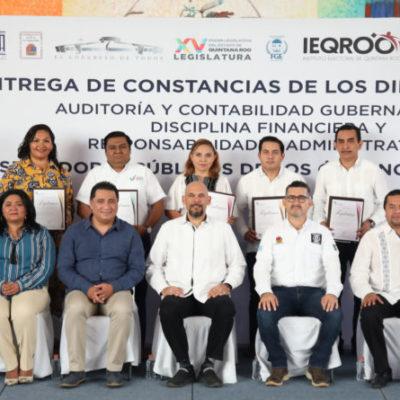 Legado de transparencia y rendición de cuentas de la XV Legislatura beneficiará a quintanarroenses, afirma Yamina Rosado