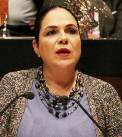 Eligen a Mónica Fernández para ser la nueva presidenta del Senado; Batrés culpa a Monreal de su derrota