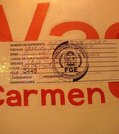 Asegura Fiscalía restaurante en la Quinta Avenida de Playa del Carmen