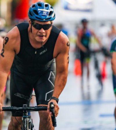Todo listo para la realización del Triatlón Cancún 2019