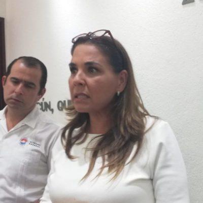 """Aclara Mara Lezama que demolición del kiosco en """"El Crucero"""" no le compete a su administración sino al Gobierno del Estado"""