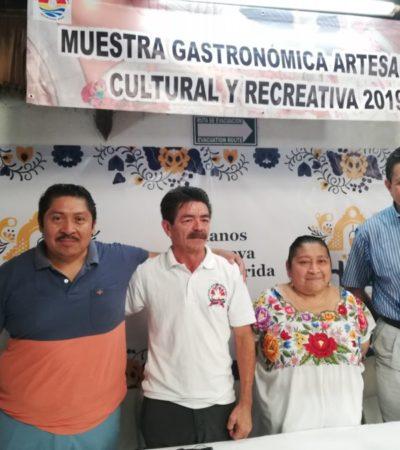 Organizan la Muestra Gastronómica, Artesanal y Cultural de Valladolid en Cancún