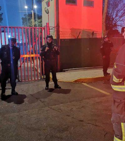 Mueren calcinados tres internos al incendiarse un dormitorio en el Reclusorio Oriente