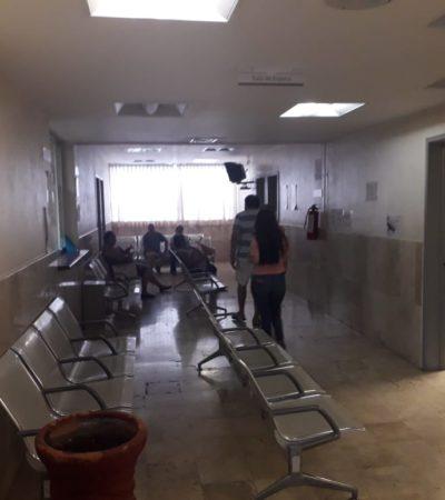 Se sofocan por falta de clima en el ISSSTE de Cozumel