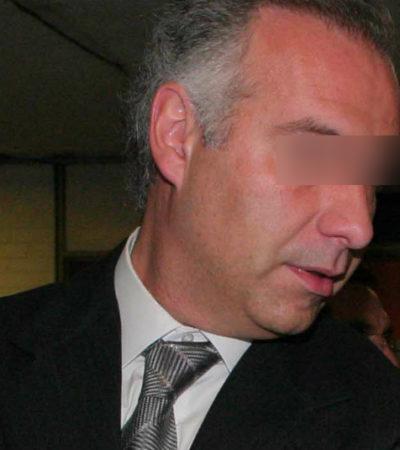 COLLADO SEGUIRÁ PRESO: Confirman vinculación a proceso por delincuencia organizada, entre otros delitos