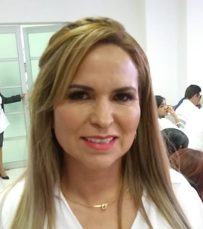 Espera Lili Campos ser la próxima coordinadora de la fracción parlamentaria del PAN en la XVI Legislatura
