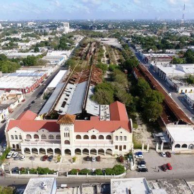 Preferirían en Mérida 'pulmón verde' en La Plancha en lugar de estación del Tren Maya