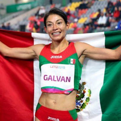Gana Laura Galván medalla de oro para México en final de 5 mil metros femenil