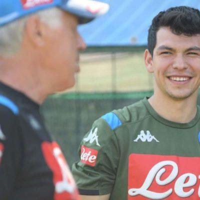 Firma Lozano contrato por 45 mdd que lo ligará al Napoli durante los próximos cinco años