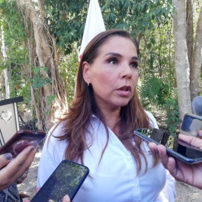 Anuncia Mara Lezama que Fonatur ofreció apoyo económico para la celebración del 50 aniversario de Cancún
