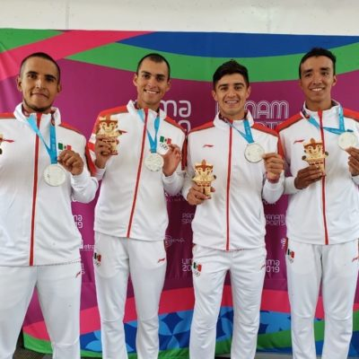 Culmina Quintana Roo con tres medallas en los Panamericanos