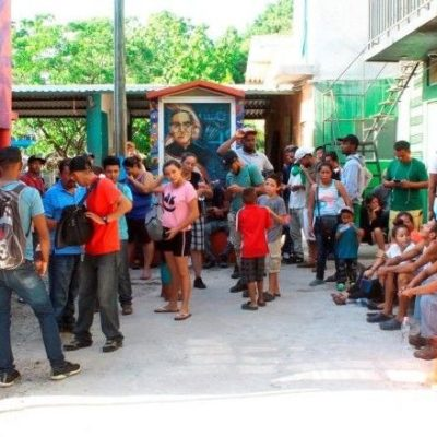 Acusan migrantes trato de 'perros' en albergue de Tabasco