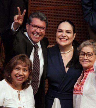 Presidirá la morenista Mónica Balboa Mesa Directiva del Senado; Batres se hizo a un lado…
