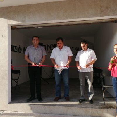 Abre Morena casa de enlace en Puerto Morelos