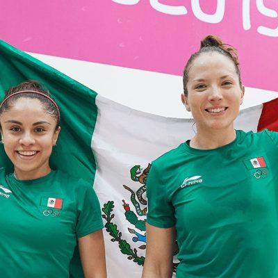 PANAMERICANOS DE LIMA: México gana 4 oros en Raquetbol y recupera tercer puesto del medallero
