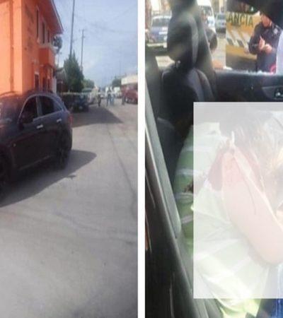 Ejecutan a dos personas en el centro de Comitán; viajaban en un auto con placas de Tlaxcala
