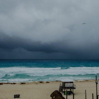 Pronostican lluvias fuertes para la Península de Yucatán