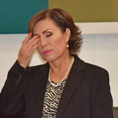 HUNDEN EXCOLABORADORES A ROSARIO ROBLES: Guardó silencio pese a señalarle irregularidades