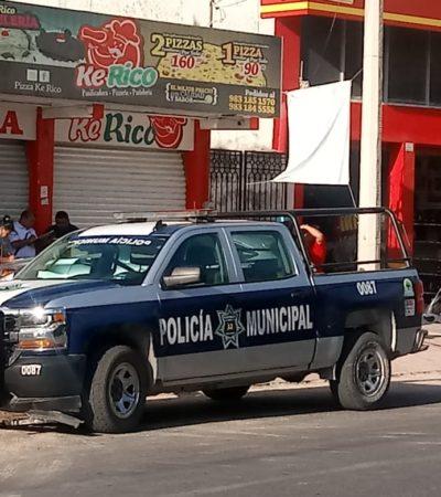 Roban durante la madrugada en una pizzería en Chetumal