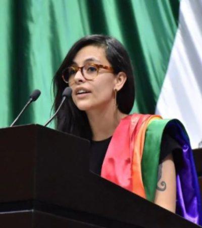 Denuncia diputada independiente amenazas de muerte por su participación en protesta feminista