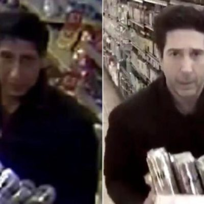 A la cárcel por robo un sujeto que parece el 'doble' de Ross de 'Friends'