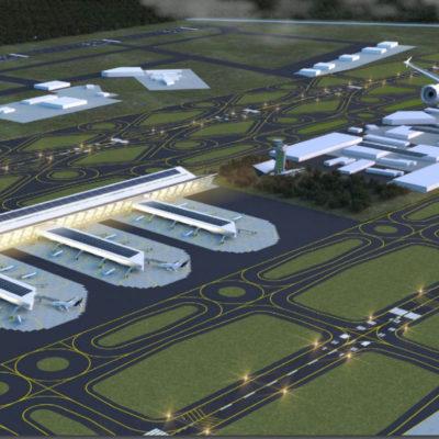 Plantean financiar aeropuerto en Santa Lucía con la Tarifa de Uso Aeroportuario