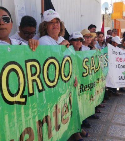 Integrantes del Sauqroo exigen a la Junta Directiva que no elija a un político como rector de la universidad