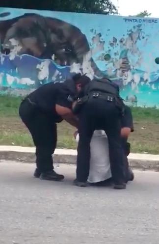 Denuncian presunto abuso policiaco en Playa del Carmen