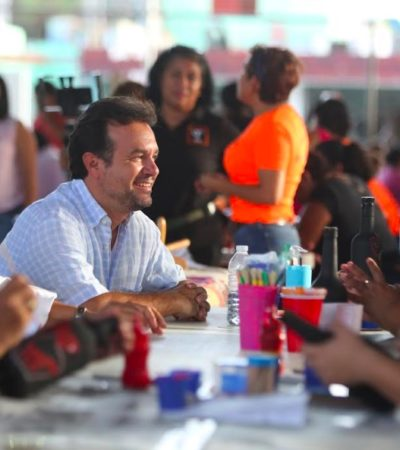 Atiende Pedro Joaquín más de mil 500 personas con actividades de prevención de la violencia y respeto a la mujer
