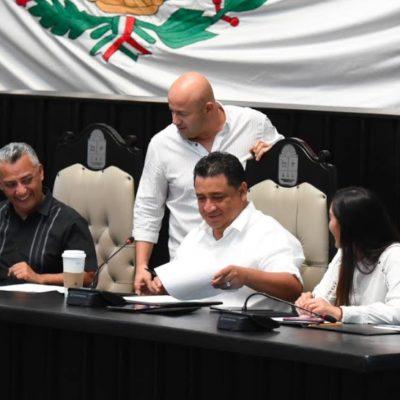 Eligen a integrantes de mesa directiva del Congreso de QR para el periodo extraordinario