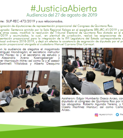 Exponen aspirantes a diputado su caso ante el Tribunal Electoral