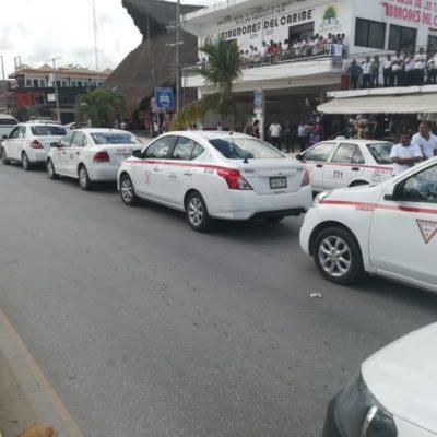 Taxistas de Playa del Carmen descubren irregularidades en el ajuste tarifario publicado por el Instituto de Movilidad