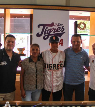 Tigres firma a prospecto quintanarroense Jorge Alberto Ruiz Córdoba