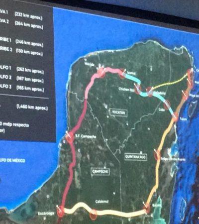 Anuncia Jesús Pool que en seis meses iniciarán los primeros trazos del Tren Maya