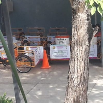 Dispondrán de triciclos para recolectar la basura en José María Morelos